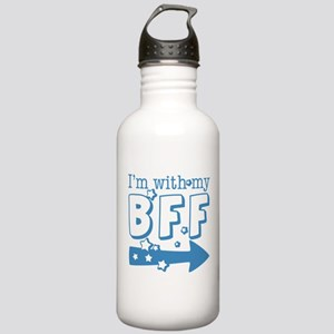 I'm with My BFF (RIGHT) Stainless Water Bottle 1.0