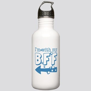 I'm with My BFF (LEFT) Stainless Water Bottle 1.0L