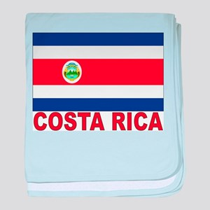 Costa Rica Flag Infant Blanket