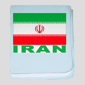 Iran Flag Infant Blanket