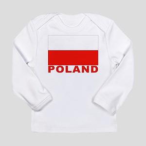 Poland Flag Long Sleeve Infant T-Shirt