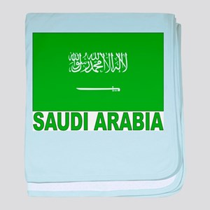 Saudi Arabia Flag Infant Blanket