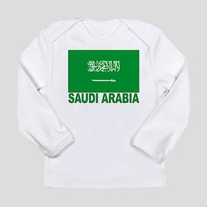 Saudi Arabia Flag Long Sleeve Infant T-Shirt