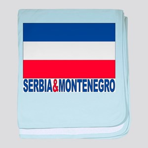 Serbia And Montenegro Infant Blanket