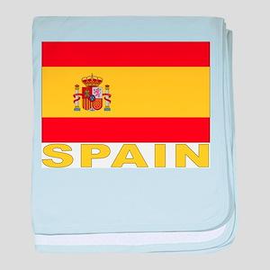 Spain Flag Infant Blanket