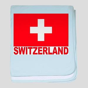 Switzerland Flag Infant Blanket
