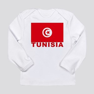 Tunisia Flag Long Sleeve Infant T-Shirt