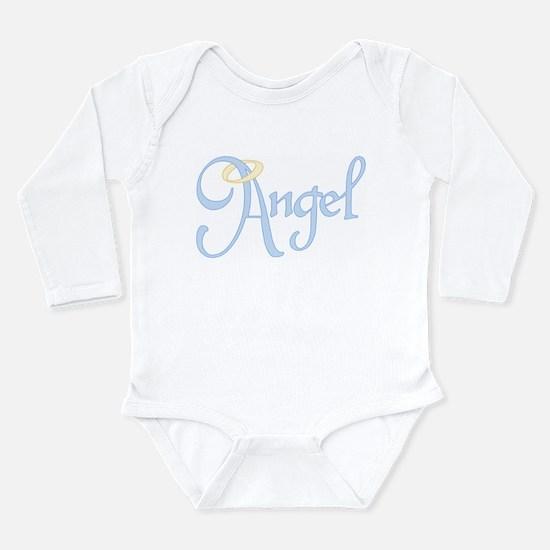 Angel Text Long Sleeve Infant Bodysuit