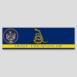 Dont Tread on Me Utah Sticker (Bumper)