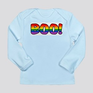 Halloween Rainbow BOO Long Sleeve Infant T-Shirt