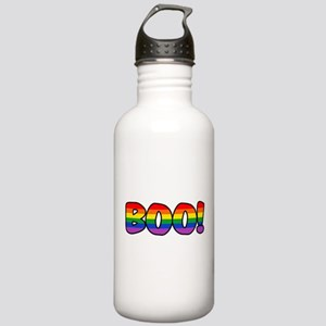Halloween Rainbow BOO Stainless Water Bottle 1.0L