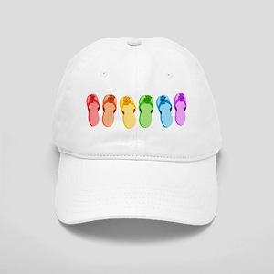 Rainbow Flip-Flops Cap