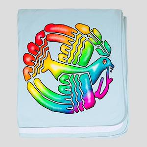 Rainbow Dove Of Peace Infant Blanket