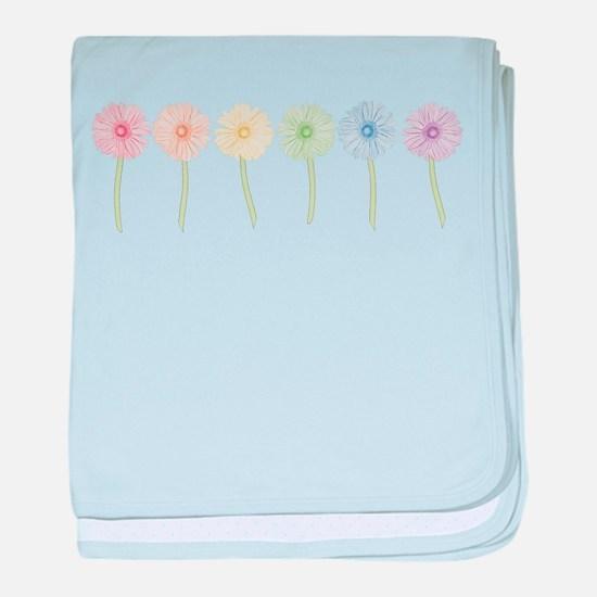 Rainbow Daisies Infant Blanket