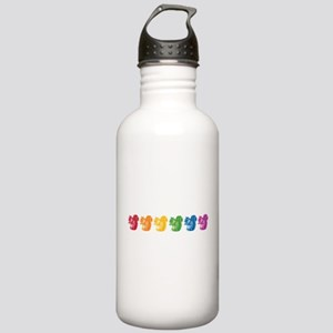 Rainbow Squirrels Stainless Water Bottle 1.0L