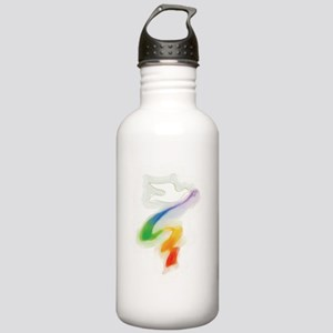 Dove with Rainbow Ribbon Stainless Water Bottle 1.