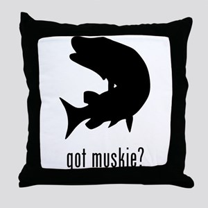 Muskie Throw Pillow
