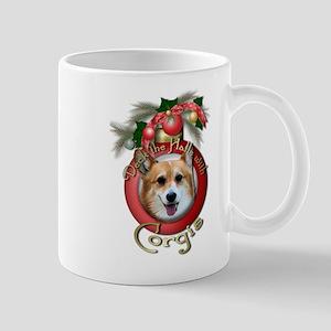 Christmas - Deck the Halls - Corgis Mug
