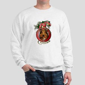 Christmas - Deck the Halls - Collies Sweatshirt