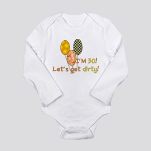 30th Birthday Long Sleeve Infant Bodysuit