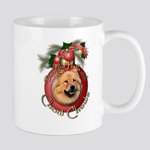 Christmas - Deck the Halls - Chows Mug