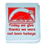 Thanksgiving Humor Blessing Infant Blanket