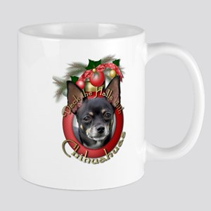 Christmas - Deck the Halls - Chihuahuas Mug