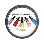 Findecision Wall Clock
