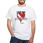 Love My Buddy White T-Shirt
