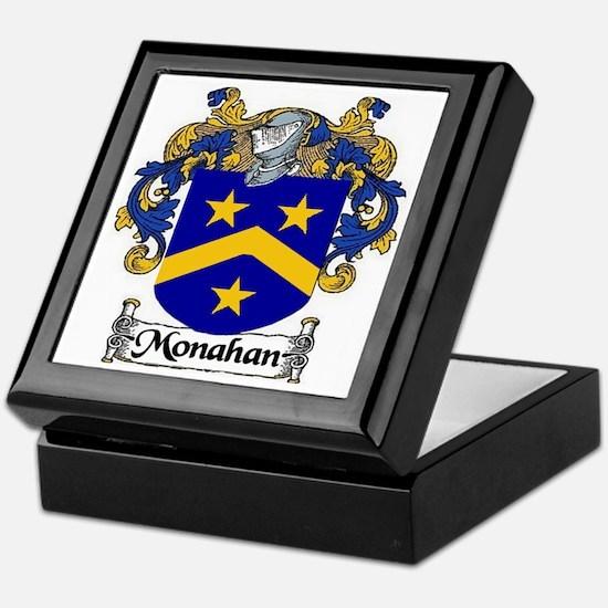 Monahan Coat of Arms Keepsake Box