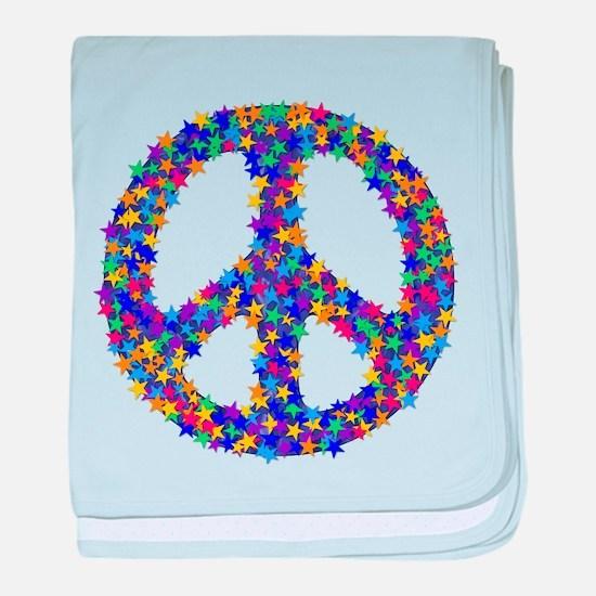 Star Peace Symbol Infant Blanket