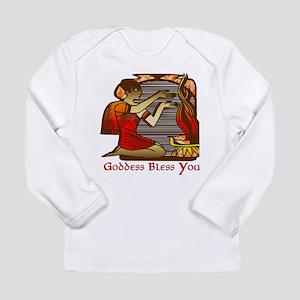 Goddess Bless You Long Sleeve Infant T-Shirt