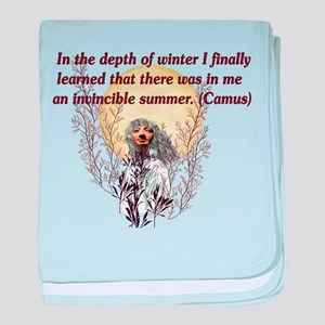 Winter Pagan Goddess Infant Blanket