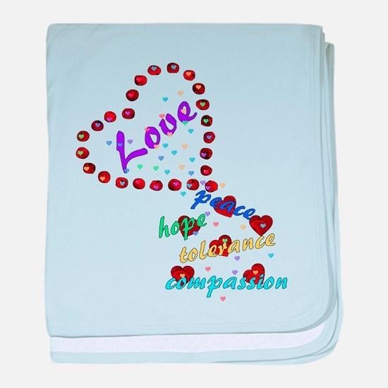 Seeds of Love Infant Blanket