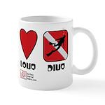 Peace Love Mug
