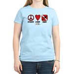 Peace Love Women's Light T-Shirt