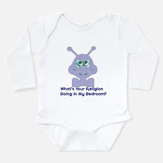 Bedroom Invaders Long Sleeve Infant Bodysuit