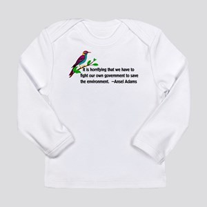 Fighting The Government Long Sleeve Infant T-Shirt