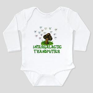 Alien Shrooms Long Sleeve Infant Bodysuit