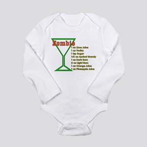 Zombie Long Sleeve Infant Bodysuit