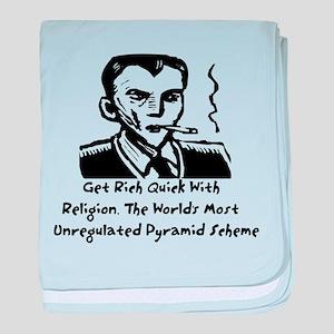 Religion Pyramid Scheme Infant Blanket