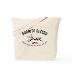 Burrito Dive Tote Bag