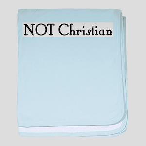 NOT Christian Infant Blanket