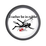 Rather Rubber Wall Clock