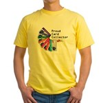 Card Collector Yellow T-Shirt