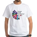 Card Collector White T-Shirt