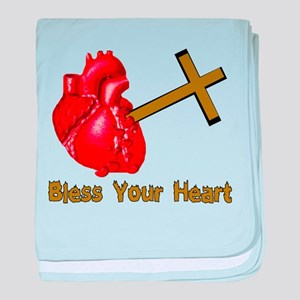 Bless Your Bloody Heart Infant Blanket