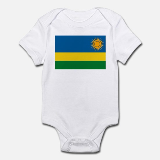 Rwanda Flag Infant Creeper