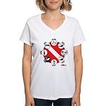 Circle of Scuba Women's V-Neck T-Shirt