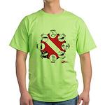 Circle of Scuba Green T-Shirt